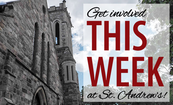 This Week at St. Andrew's
